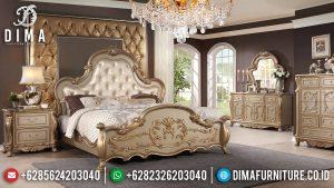 Set Kamar Tidur Mewah Classic, Tempat Tidur Mewah, Mebel Jepara Murah MM-0313