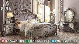 Set Kamar Tidur Mewah Jepara, Tempat Tidur Terbaru, Dipan Murah Jepara MM-0327