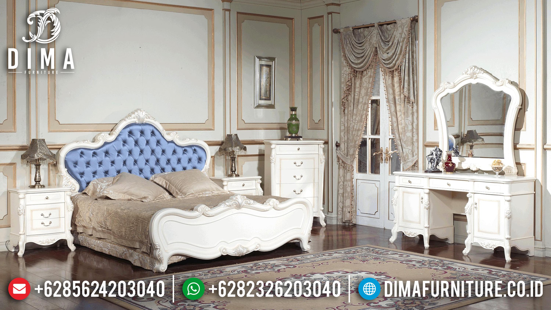 Set Kamar Tidur Mewah, Kamar Set Jepara Classic, Tempat Tidur Mewah Jepara SK-0308