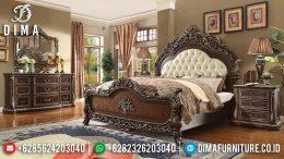 Tempat Tidur Mewah Jepara, Kamar Set Pengantin Mewah, Mebel Jepara Terbaru MM-0314