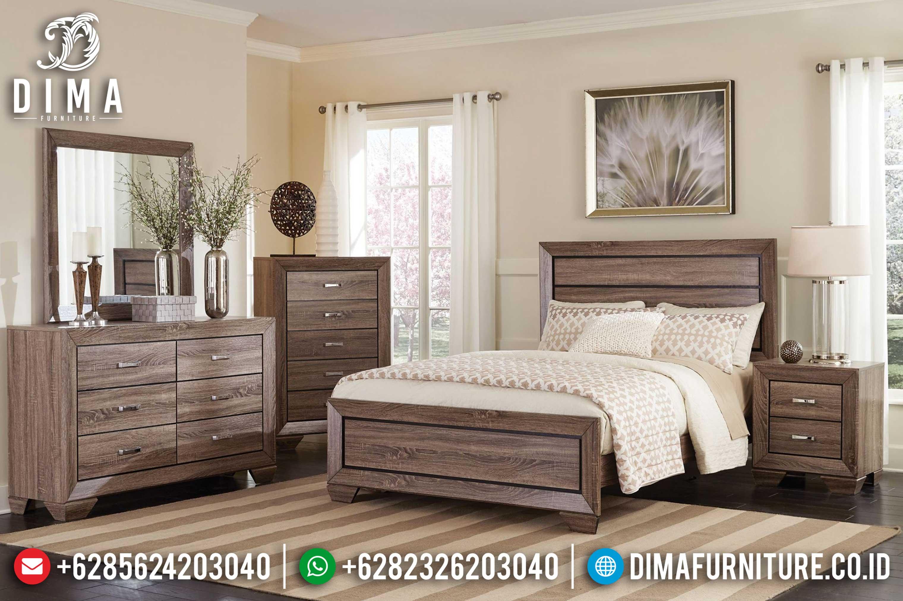 Kamar Set Minimalis, Tempat Tidur Jepara, Mebel Jepara Terbaru MM-0329