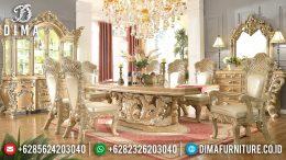 Model Klasik Victorian Set Meja Makan Mewah Jepara Terbaru Duco MM-0376