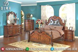 Tempat Tidur Minimalis Jati, Kamar Set Jepara, Dipan Murah Terbaru MM-0367