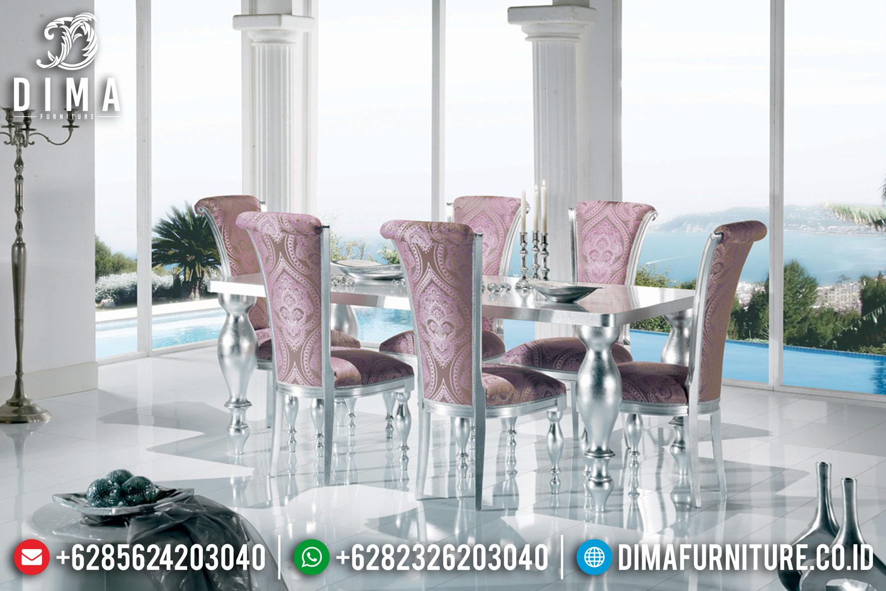 Meja Makan Minimalis Modern, Meja Makan Mewah Jepara, Kursi Makan Duco MM-0395