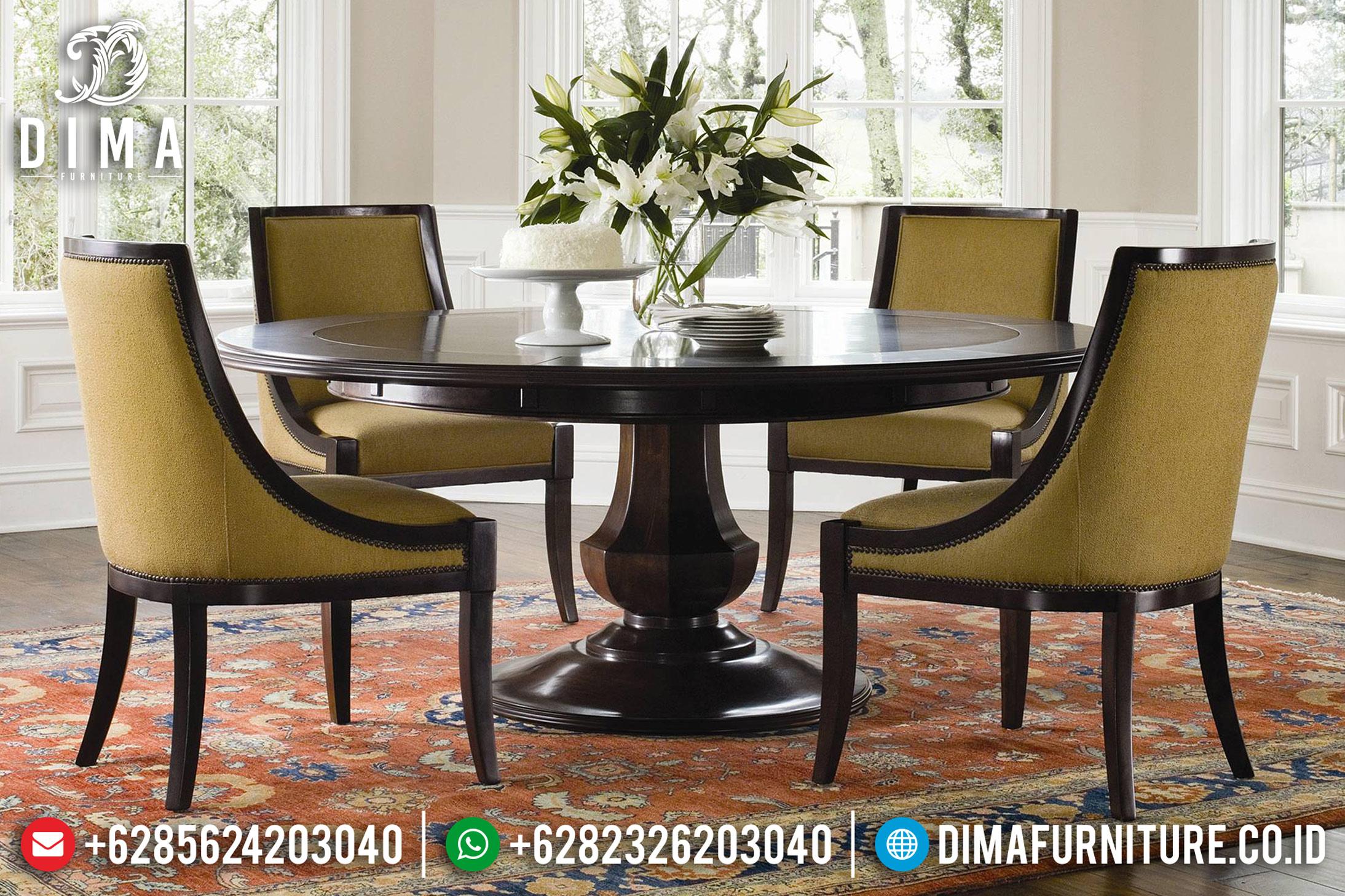 Meja Makan Minimalis, Set Meja Makan Jepara, Kursi Makan Jati TPK MM-0394