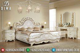 Set Kamar Tidur Classic, Tempat Tidur Mewah, Ranjang Pengantin Jepara MM-0397