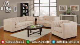 Jual 1 Set Sofa Tamu Minimalis Jepara Bludru Mewah Berkualitas MM-0405