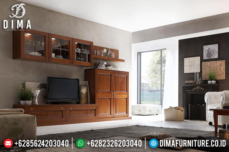 Meja Tv Minimalis Jati, Bufet Tv Jepara, Bufet Tv Mewah Minimalis Mm-0411