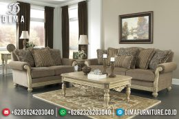 Model Jual Set Sofa Tamu Jepara Mewah Minimalis Terbaru Leddy MM-0414