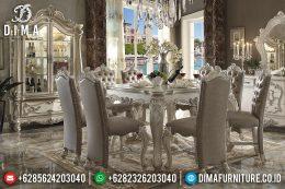 Set Meja Makan Eropa Mewah Klasik Terbaru MM-0425