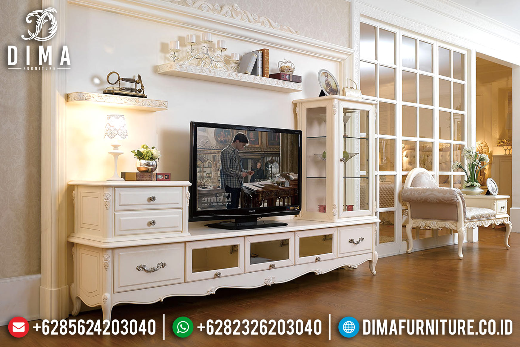 Set Bufet Tv Modern Mebel Jepara Terbaru Mm-0450