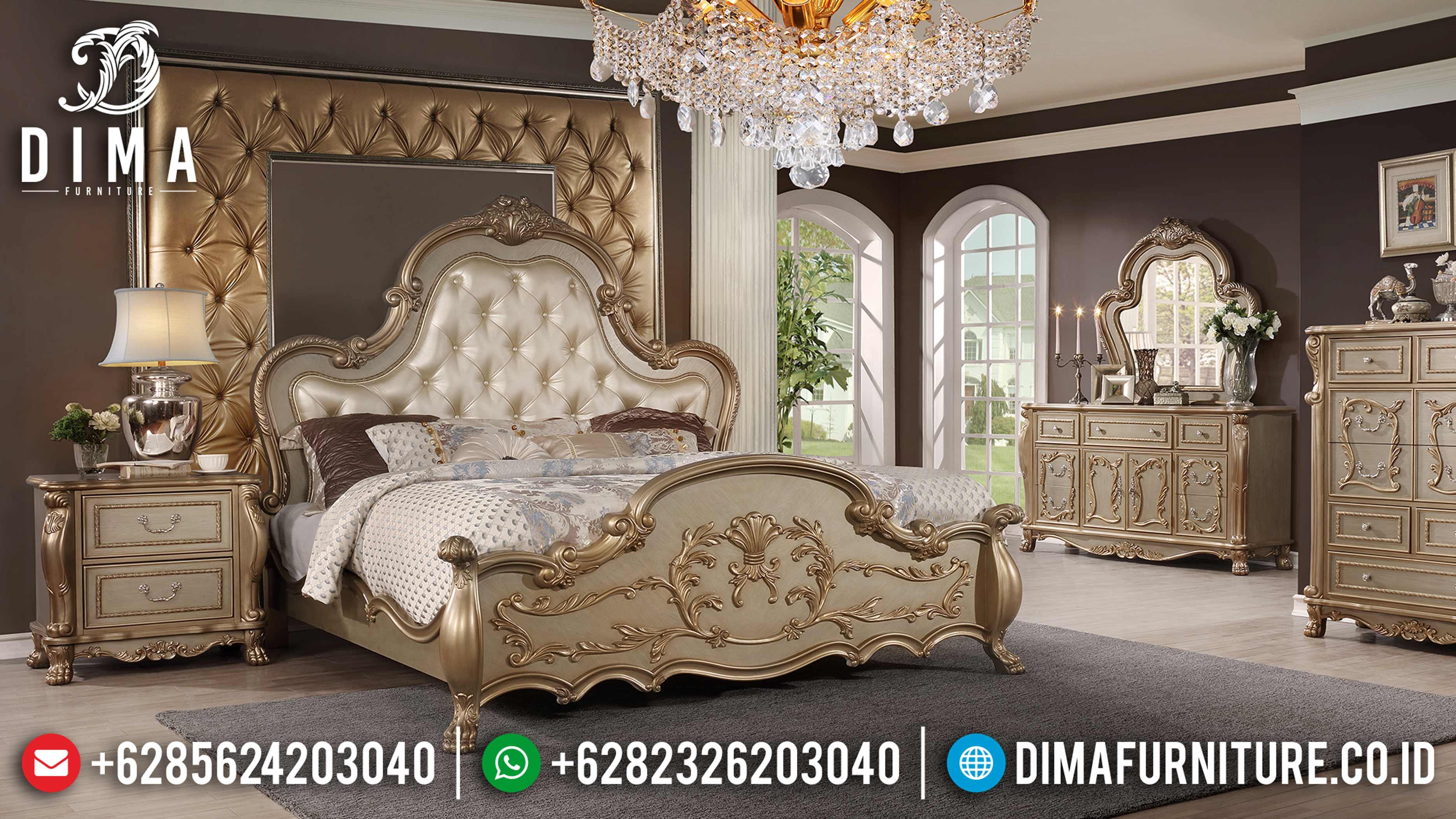 Set Kamar Tidur Mewah Duco Klasik Terbaru MM-0482