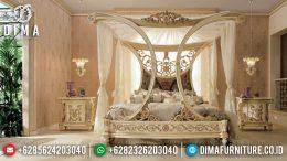 Set Tempat Tidur Klasik Mewah Ukir Jepara Terbaru MM-0484