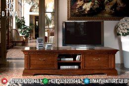 Meja Tv Klasik Modern Natural Jati Mewah Terbaru MM-0556