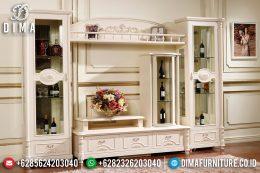Set Bufet Tv Klasik Modern Duco Putih Terbaru MM-0553