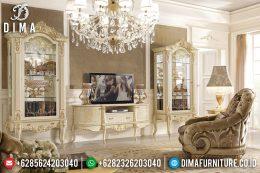 Set Bufet Tv Ukir Jepara Duco Klasik Terbaru MM-0536