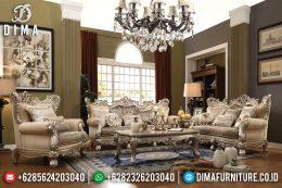 Set Kursi Tamu Mewah Klasik Ukiran Jepara Terbaru MM-0525