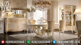 Set Meja Makan Klasik Modern Duco Mewah Terbaru MM-0576