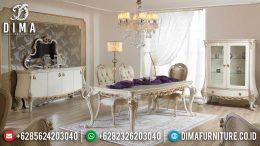 Set Meja Makan Ukir Klasik Furniture Jepara Terbaru MM-0560
