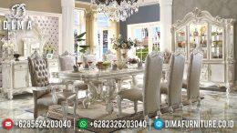 Set Meja Kursi Makan Mewah Duco Klasik Terbaru MM-0587
