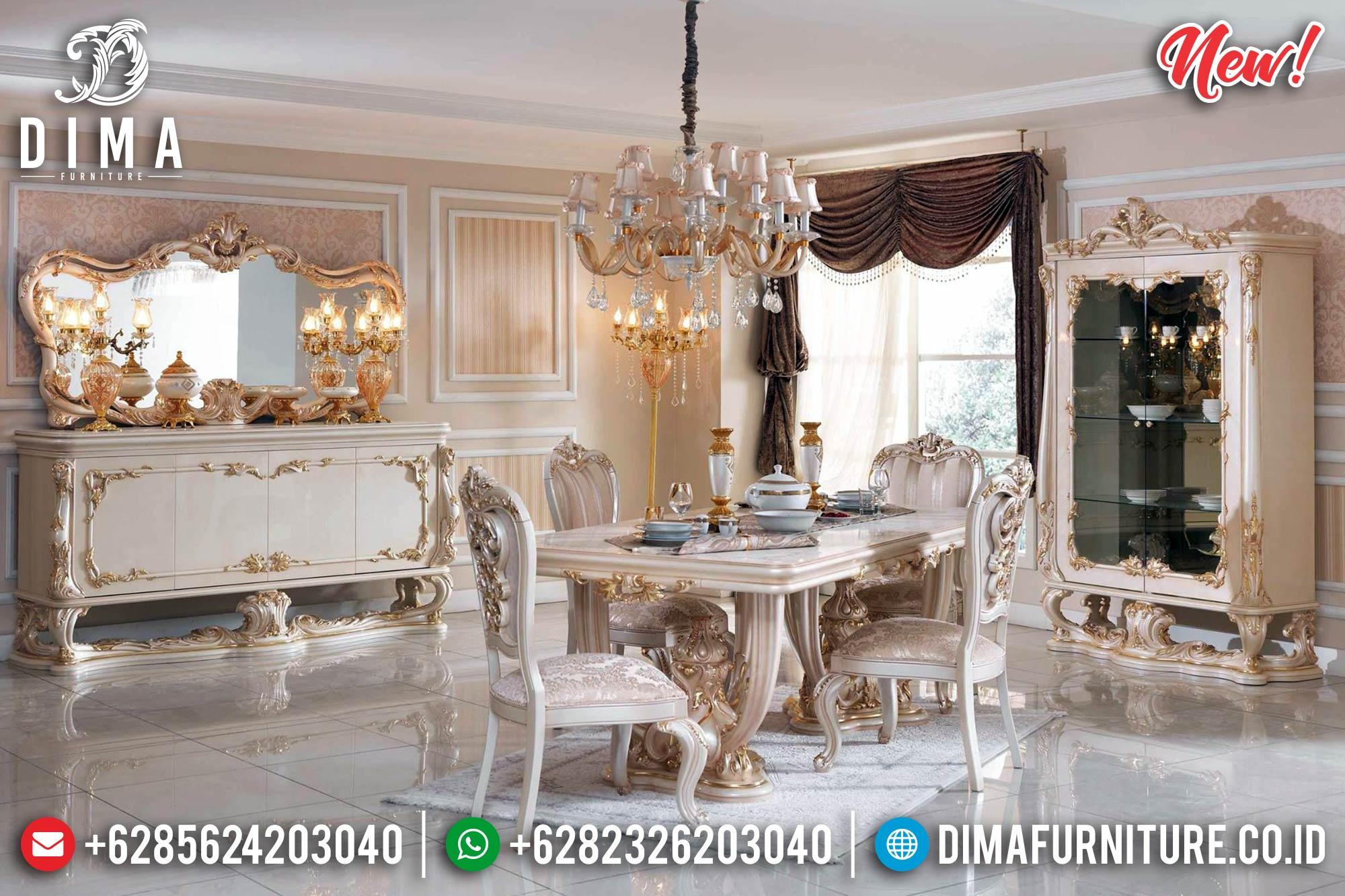 New Meja Makan Mewah Arabian Prince MM-0639