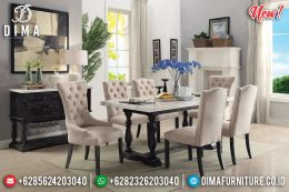 New Meja Makan Minimalis Top Granit MM-0614