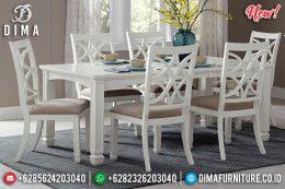 New Meja Makan Minimalis Duco 6 Kursi MM-0637