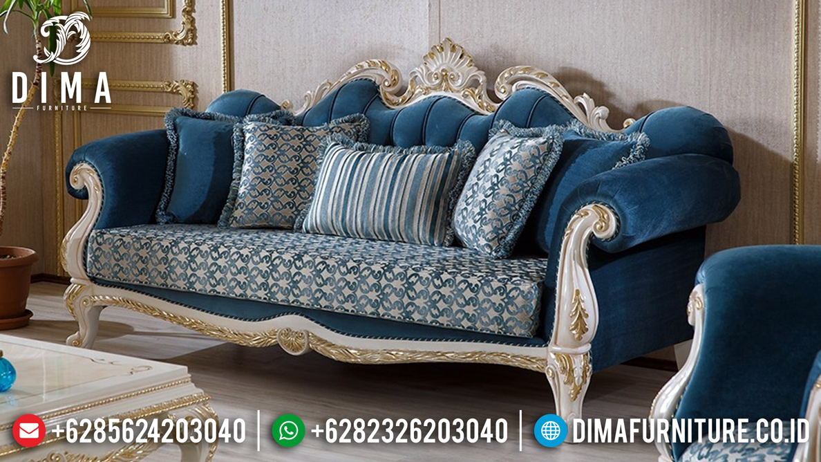 Desain Sofa Tamu Mewah Imperial Living Room Luxury Mm-0692