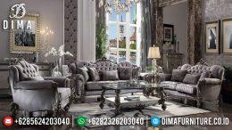 Harga Sofa Tamu Mewah Royals Duco Silver Athena Glossy MM-0690