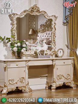 Jual Cermin Hias Mewah Set Meja Rias Ukiran Jepara New Luxury MM-0680
