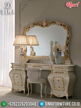 Meja Rias Mewah Madonna Furniture Jepara Classic Luxury MM-0677