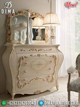 New Meja Konsul Mewah, Meja Hias Furniture Jepara, Cermin Hias Ukiran Classic MM-0674