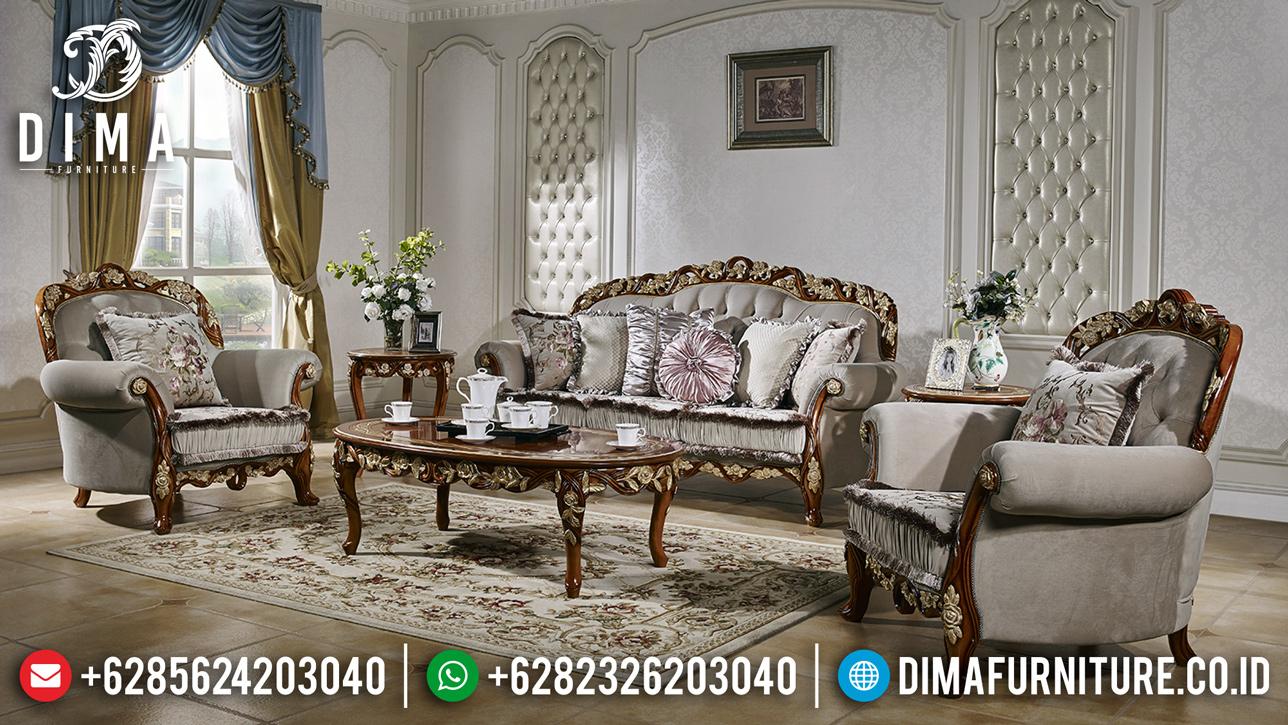 New Sofa Tamu Jepara Ukiran Natural Superior Design Interior MM-0687