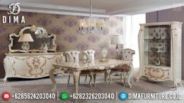 Berkah Ramadhan Sale Meja Makan Mewah Jepara Luxury Classic Terbaru MM-0741