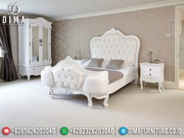 Desain Inteiror Kamar Set Mewah Shabby Chic Luxury Carving White Camonix MM-0706