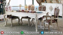 Desain Meja Makan Mewah Empire Persian Luxury Carving Original Handmade MM-0697