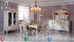 Jual Meja Makan Mewah Jepara Luxury Carving Furniture Klasik Europe MM-0742