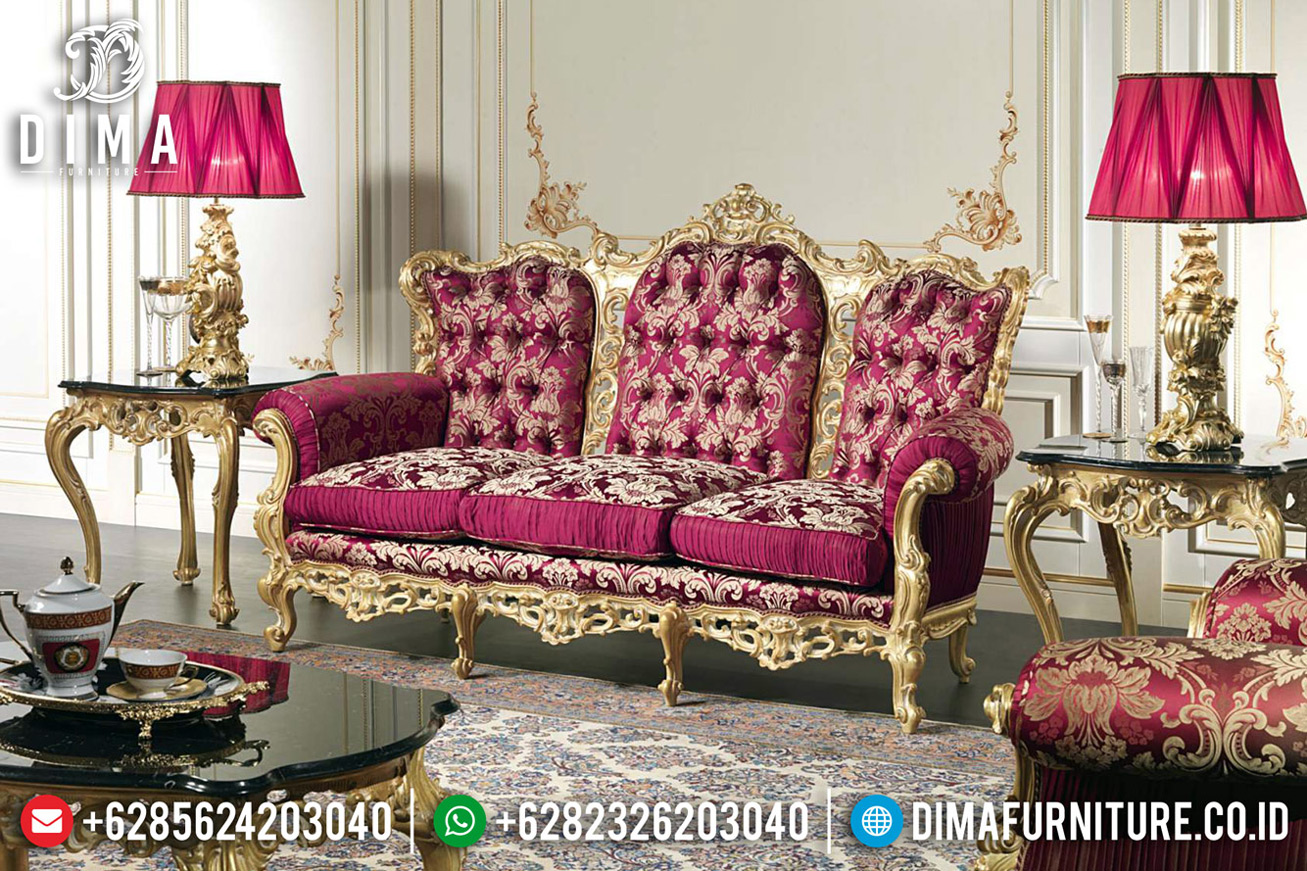 New Models Set Sofa Tamu Klasik Luxury Carving Jepara Great Quality MM-0719
