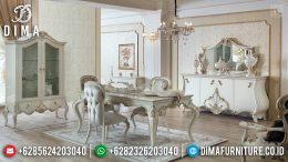 Ramadhan Sale Meja Makan Mewah Jepara Murah Meria Luxury Style Elegant MM-0736