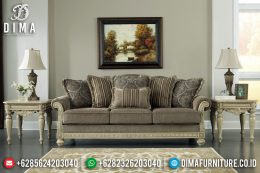 Sofa Tamu Jepara 3 Seater Simple Luxury Carving Comfortable MM-0720
