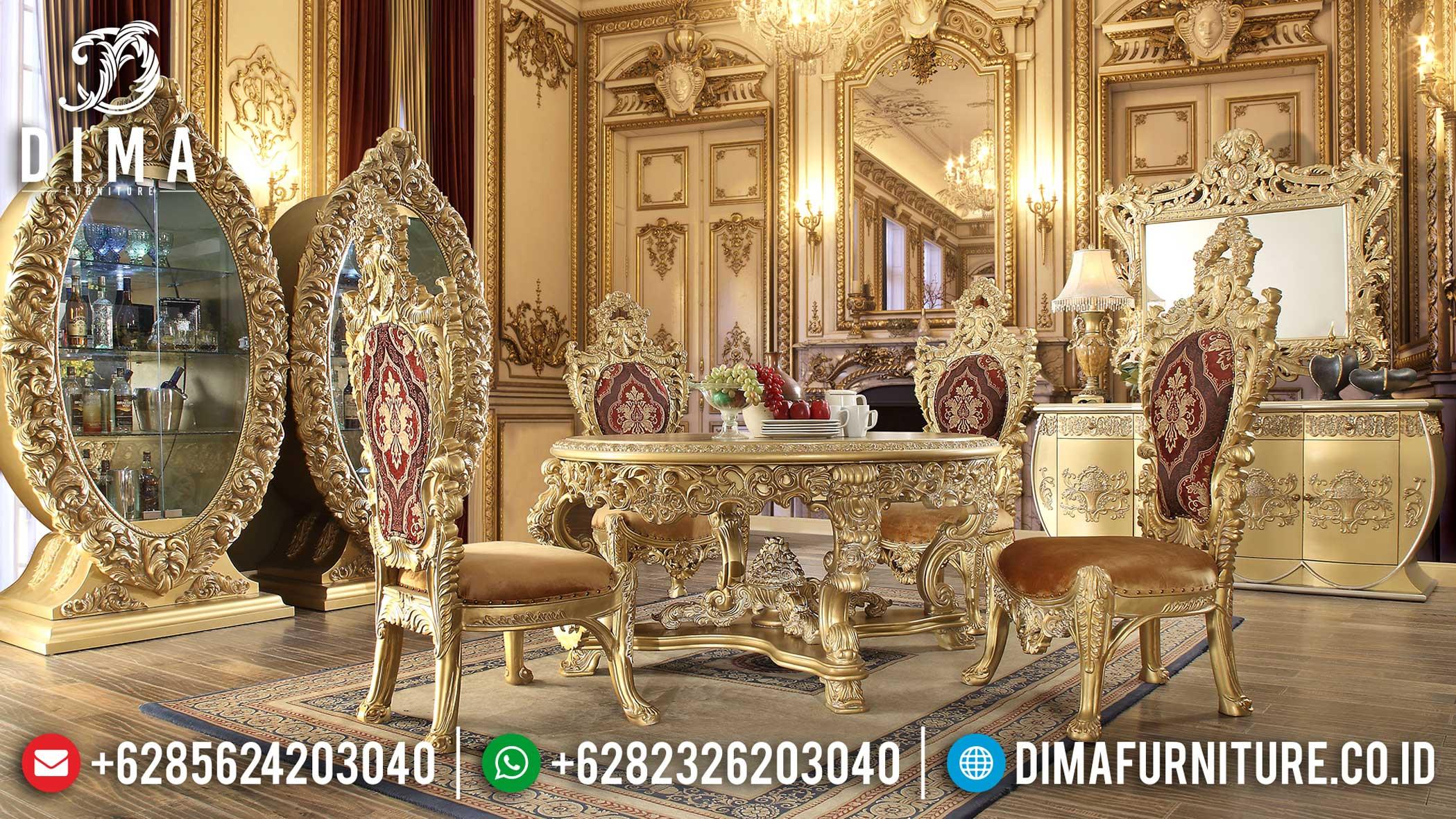 Jual Meja Makan Mewah Ukiran Jepara Luxury Great Sale Produk Terlaris Mm-0750