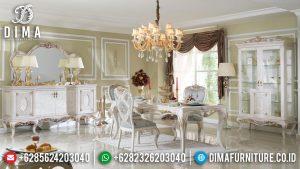 Order Now Meja Makan Mewah Ukiran Klasik Luxury Mebel Jepara Terbaru MM-0760