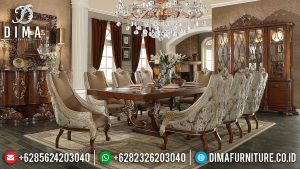Unbelieveble Meja Makan Mewah Jepara Luxury Classic Design Inspiring Interior MM-0766