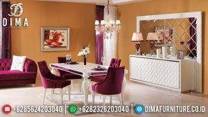 Wonderful Set Meja Makan Mewah Jepara Luxury Minimalis Design Inspiring MM-0768