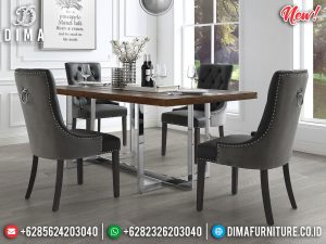 Excellent Room Meja Makan Minimalis Modern Luxury New Released 2021 MM-0825