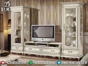 Harga Lemari Hias Mewah Set Meja TV Ukiran Luxury High Quality Item MM-0777