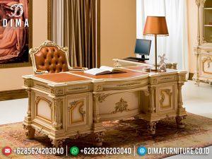 Harga Meja Kantor Direktur Luxury Classic Furniture Jepara Terbaru MM-0807