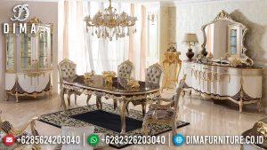 Inspiring Desain Meja Makan Mewah Klasik Luxury Mebel Jepara Terbaru MM-0782