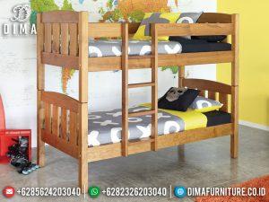 Jual Kamar Set Anak Tingkat Kayu Jati Natural Jepara Big Sale Promo MM-0832
