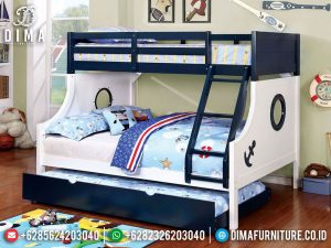 Kamar Set Anak Tingkat Sailor Popeye Style Unique Design Minimalis MM-0840
